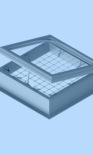 Varovalni sistem za svetlobne kupole