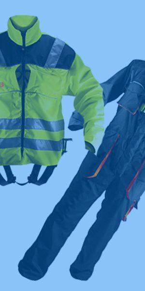 Varovalni pasovi kot delovno oblačilo